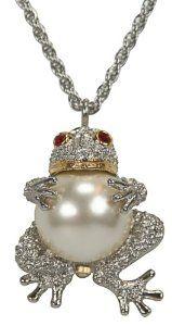Pedre Women's Two-Tone Frog Pendant Watch # 8550TX Pedre. $39.95