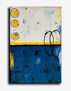 Dieses Stück wurde nur in der Galerie gezeigt und ist jetzt für Sie verfügbar! Gemacht auf 24x36x1.5 Leinwand schönen Blues mit der gelben schöne Texturen im gesamten berührt.  100 % ORIGINAL – EIN-OF-A-KIND GEMÄLDE VON ERIN ASHLEY ©  HIGH-QUALITY-GALERIE GEWICKELT LEINWAND MIT SEITEN-1-1/2 ZOLL TIEF IN SCHWARZ LACKIERT  GEMÄLDE WERDEN MIT VORZEICHEN ECHTHEITSZERTIFIKAT ANKOMMEN.  SIGNIERT VON KÜNSTLER ENTWEDER FRONT ODER SEITE DER LEINWAND UND RÜCKSEITE LEINWAND  LEINWAND KOMMEN LAN REA...
