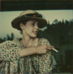 Sylvia Kristel by Melvin Sokolsky (1977)