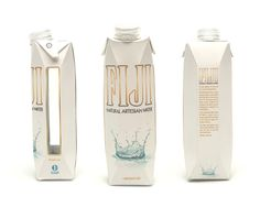 FIJI Water Packaging Redesign von Alex Kelley via Behance Water Packaging, Juice Packaging, Beverage Packaging, Coffee Packaging, Bottle Packaging, Water Branding, Chocolate Packaging, Water Paper, Tetra Pak