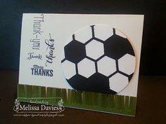 Stampin' Up! Another Thank You by Melissa Davies @ rubberfunatics
