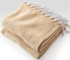 Rosenberry Rooms has everything imaginable for your child's room! Share the news and get $20 Off  your purchase! (*Minimum purchase required.) Herringbone Throw Blanket - White/Corn Silk