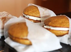 Pumpkin Whoppie Pies  from {Table for Two}