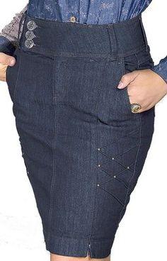 3894-Saia jeans- Row-an