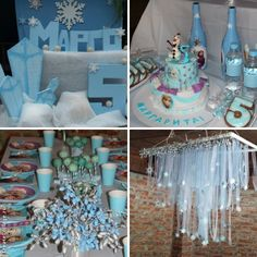 "Frozen party. день рождение на тему ""Холодное сердце"""