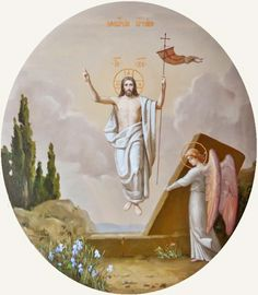 1270 I learned in the course of meditation that the purer the soul, the greater her communion with God on the spiritual level. Jesus Is Risen, Jesus Is Lord, Christian Images, Christian Art, Religious Images, Religious Art, Jesus Christ Painting, Holy Saturday, Jesus Christ Images