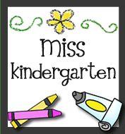Great kindergarten blog! Organization, DIY, Classroom Ideas, & more!