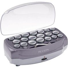 Revlon revlon hair setters - 20 Roller Ionic Professional Hairsetter - - Plain and Simple Deals - no frills, just deals Hot Rollers Hair, Easy Wrap, Retro Makeup, Roller Set, Pin Curls, Hair Conditioner, Styling Tools, Curled Hairstyles, Revlon
