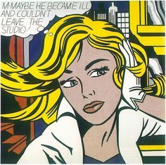 Image result for roy lichtenstein artwork oh brad