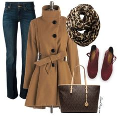 Winter Christmas Fashion for Women   Leopard Print, Camel, Burgundy! Love this Christmas Outfit!