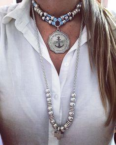 """177 Likes, 3 Comments - Laquedivas® (@laquedivas) on Instagram: """"Choker Ancla + Collar Mandala. Últimos días del #cyberweek #accesories #fashion Nos adherimos al…"""""""
