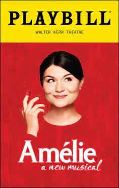 Amélie Playbill - Opening Night