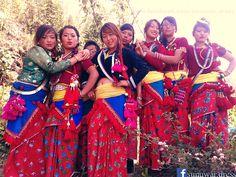 Sunuwar girls, People, Koich, Mukhiya  Sunuwar dress