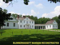 Blennerhassett Mansion Parkersburg West Virginia