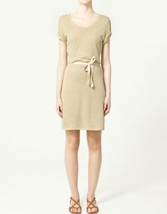 Zara $39.90. I just want a slouchy shirt dress SO BAD.