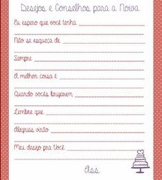 Idéias de brincadeiras para chá de panela/cozinha! #vemver 4