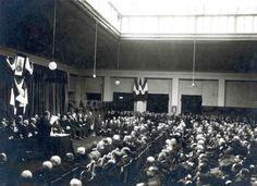 L'assemblea generale, presieduta da Filippo Meda. #archivioStorico