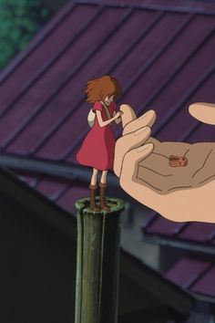 The secret world of arrietty.... this is the part that made me cry, and i dont really cry that much