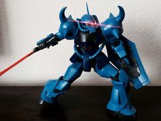 Ollie Pai (USA) This is my MG Gouf 2.0 straight build with no decals.