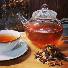 Remember when pumpkin was all the rage a few months ago? Our Pumpkin Cornucopia black tea makes craving pumpkin in January totally okay! This tea is overflowing with fruits, herbs, and nuts that no other name would fit to describe it. We have this tea year-round, so visit us and take some home today! #417tea #tea #looseleaftea #blacktea #battlefieldmo #missouri #queencitytea #pumpkin #tbt #throwbackthursday