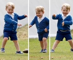 Let the royal celebrations roll! Prince George turns two:Dancing and grooving his way through life. He's got the moves!