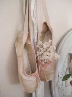 no matter how old and used they are, ballet slippers will always be one of the most gorgeous things on this planet!