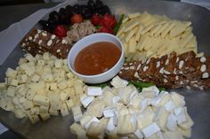 Cheese and fig platter