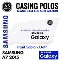 Casing Handphone Polos Samsung Galaxy A7 2015 Casing Sublime 3D Doff