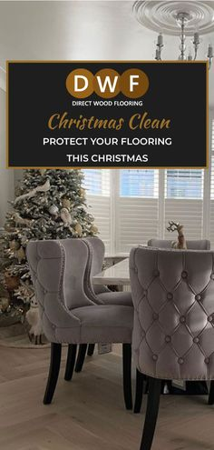 Christmas time calls for a thourough flooring clean, and we are here to help! Take a look at our tips and tricks to keep your flooring safe.