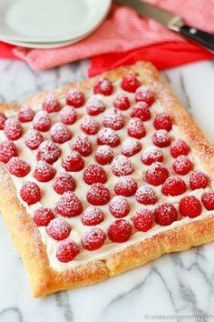 Recipe; Raspberry Lemon Cream Tart