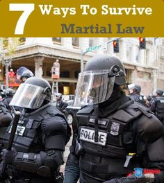 Basically, martial law can erupt any day now if tensions get too high. Governments have used various issues to declare martial law. From race riots, to terrorist plots, or disease epidemics. We can't prepare for when martial law will occur, but we can educate ourselves on the topic.