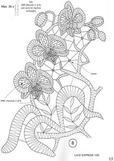 Архив альбомов Crochet Edging Patterns, Bobbin Lace Patterns, Hand Embroidery Patterns, Ribbon Embroidery, Crochet Waffle Stitch, Bruges Lace, Lace Art, Lacemaking, Point Lace