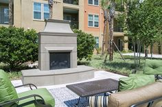 Can't wait until it is cool enough to use this! Who's ready for fall weather? #falliscoming #paseoatwinterparkvillage #winterparkflorida  Paseo at Winter Park Village Luxury Apartments located in Winter Park, FL