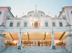 Wedding reception tent on the mansion veranda. Event design by JCG Events, image by KT Merry at Vizcaya Museum and Gardens in Miami, FL. See more in the Spring 2014 issue of Weddings Unveiled. Luxe Wedding, Miami Wedding, Wedding Details, Wedding Reception, Wedding Venues, Vizcaya Wedding, Wedding Consultant, Spring Wedding Inspiration, Floral Event Design