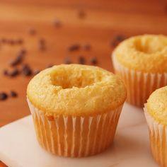 Pudding Cupcakes, Baking Cupcakes, Cupcake Cakes, Twinkie Cupcakes, Biscoff Cupcakes, Shoe Cakes, Cake Mix Recipes, Cupcake Recipes, Baking Recipes