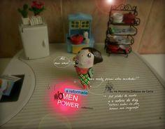 """Women Power""  handmade and handpainted brooches by 'HÁ MONSTROS DEBAIXO DA CAMA' (portuguese brand)  you can order? YES, you can!- hamonstrosdebaixodacama@gmail.com"