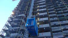 Construction lifts Construction Lift, Skyscraper, Multi Story Building, Italy, Skyscrapers, Italia