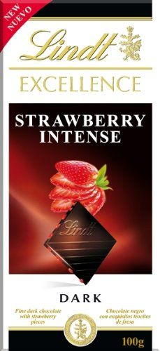 Lindt Excellence Dark Chocolate - Strawberry Intense (100g) * This is an Amazon Associate's Pin. You can find more details by visiting this Amazon Affiliate link.