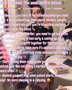 Life hacks for school, high school hacks, school goals, back to school glo Middle School Hacks, Life Hacks For School, School Study Tips, Back To School Tips, Back To School Highschool, School Supplies Highschool, Diy School, School Life, School Stuff