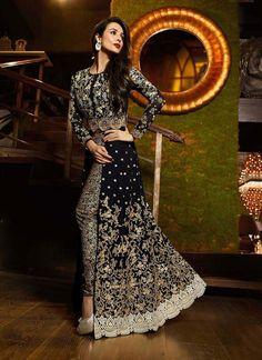 Malaika Arora Khan Black Designer Suit