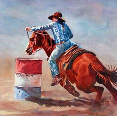 Headed For Home by Tammy Meeske Watercolor ~  x