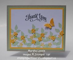 Thank You by StampingwithMarsha - Cards and Paper Crafts at Splitcoaststampers
