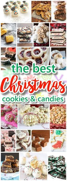 The BEST Christmas Cookies, Fudge, Candy, Barks and Brittles Recipes - Favorites for Holiday Treats Gift Plates and Goodies Bags! Dreaming in DIY #christmascookies #christmascandy #christmasdesserts #neighborgiftplates #holidaygiftplates