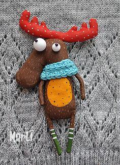 curious moose