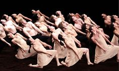 Members of the Tanztheater Wuppertal Pina Bausch performing at the Opera House in Cairo in 2009. Photograph by Mohamed Omar.