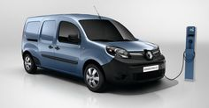 Renault Kangoo ZE Is Now The Electric Small Van With The Longest Driving Range #Electric_Vehicles #New_Cars