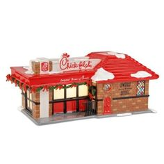 Amazon.com: The Original Snow Village from Department 56 Chick-fil-A®: Home & Kitchen