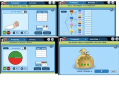 7 different interactive probability activities