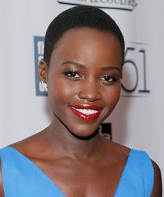 Tom Ford's Cherry Lush lipstick, as seen on Lupita Nyong'o, is the most popular red lipstick.