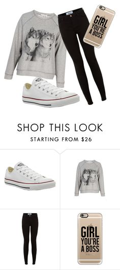 """""""school"""" by dog-lover-123 ❤ liked on Polyvore featuring Converse, Sea, New York, New Look and Casetify"""